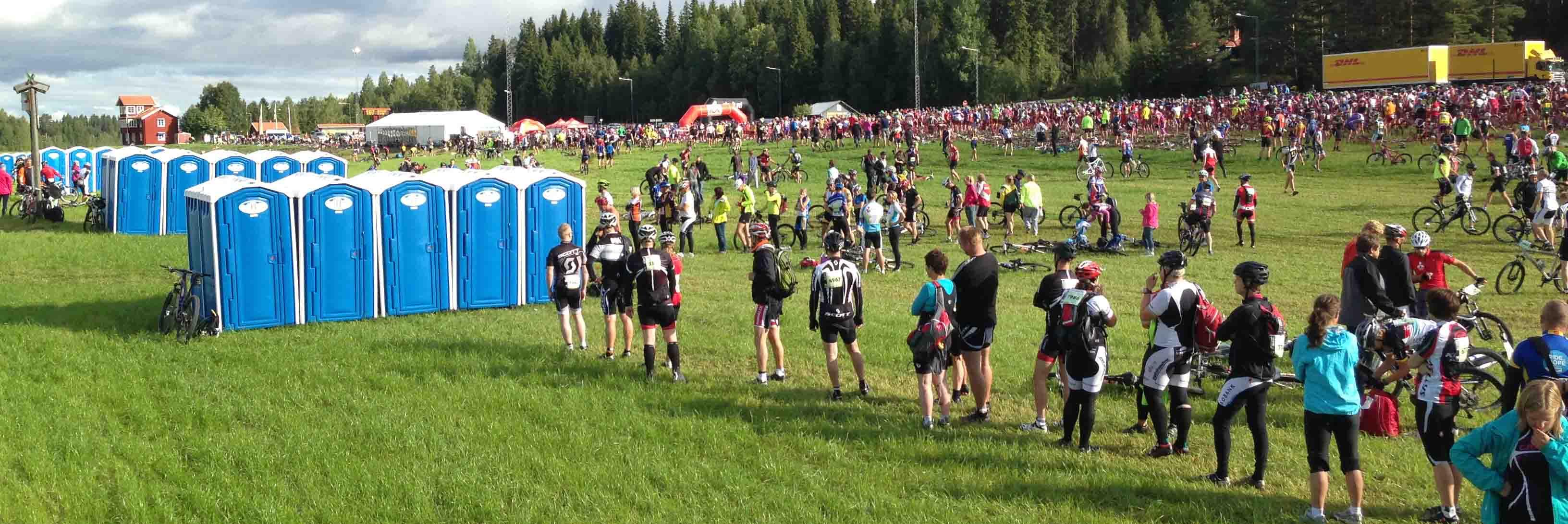 Cykelvasan i starten vid Sälen -SeBra Event AB