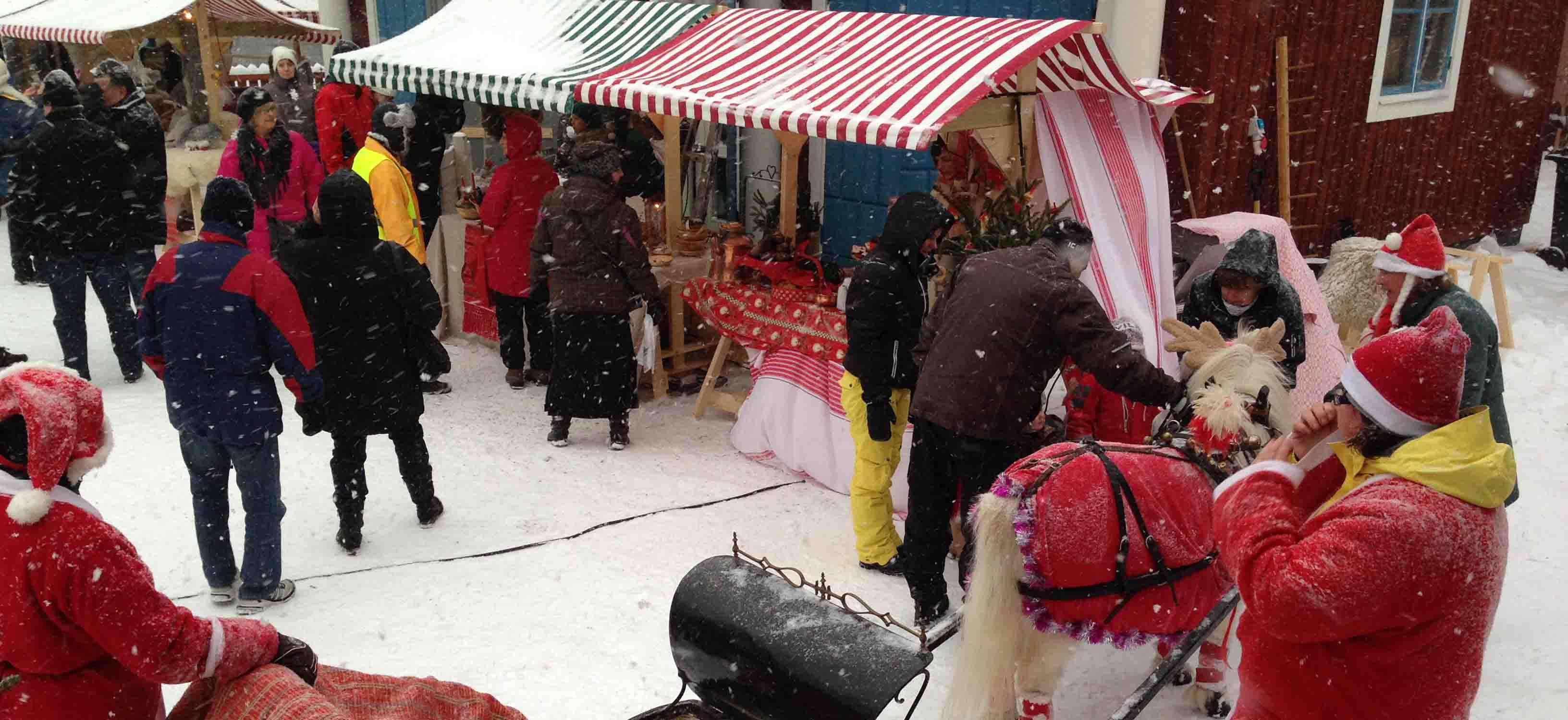 Jul-Ponny på Korsnäsgårdens Julmarknad. -SeBra Event AB