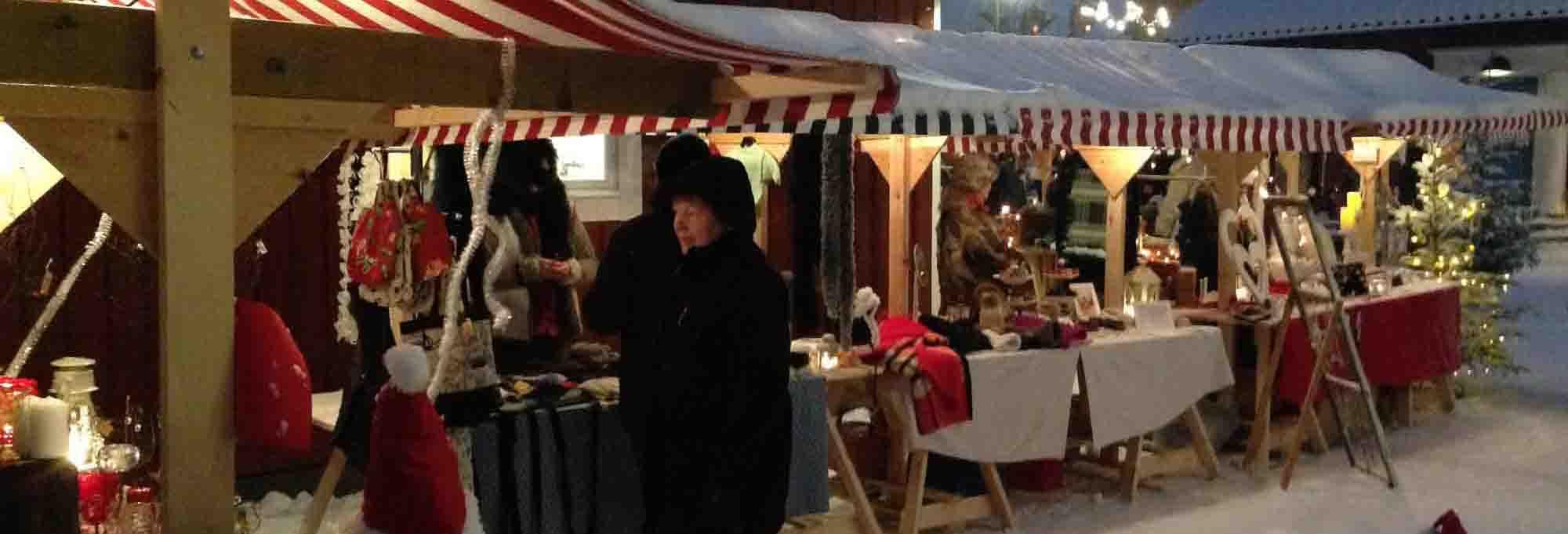 Julmarknad på Korsnäsgården Mora -SeBra Event AB