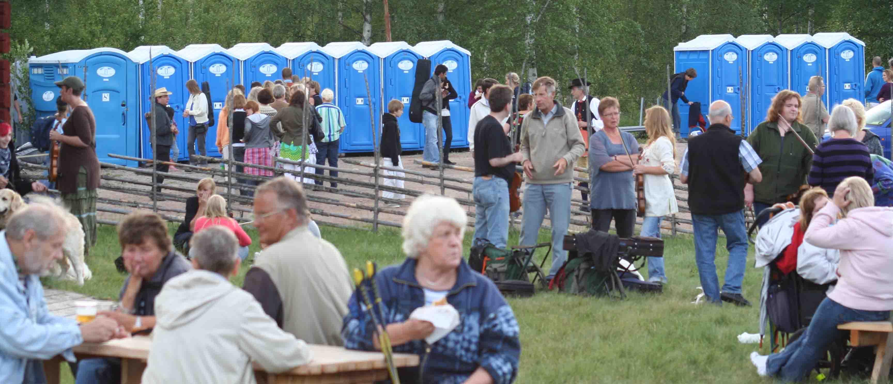 Gävleborg  Vi hyr ut toaletter till Gävleborg -SeBra Event AB