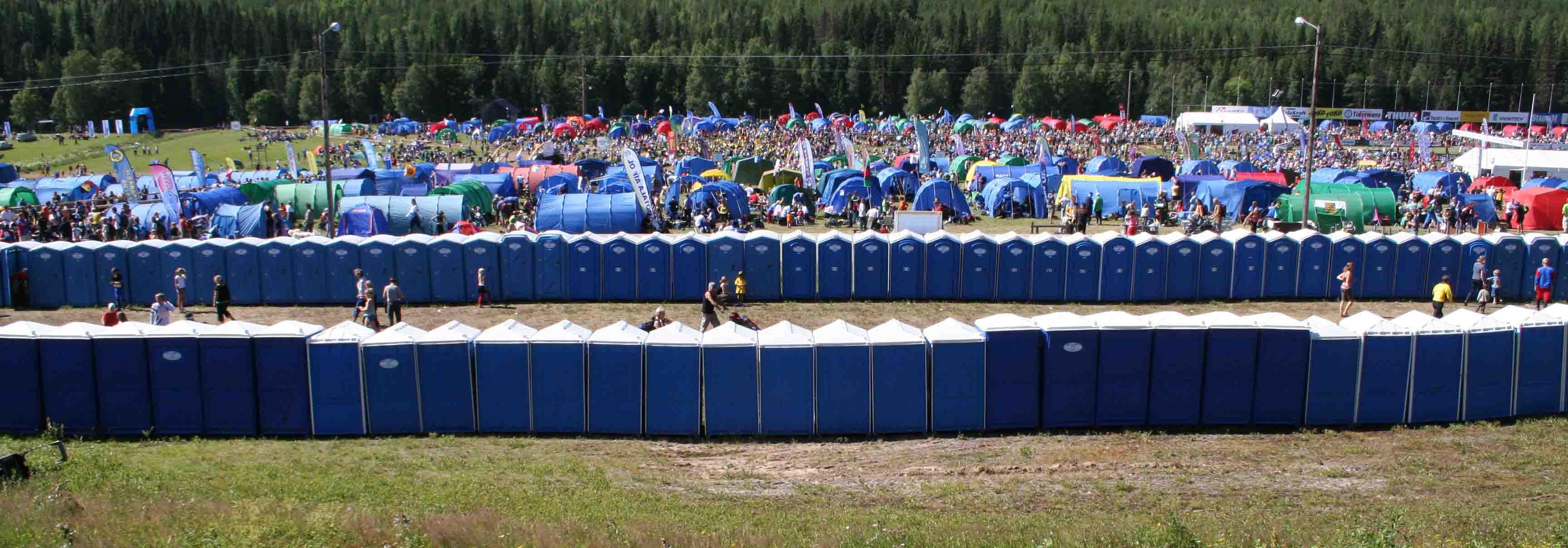 Gävle  Vi hyr ut mobila toaletter i Gävle -SeBra Event AB