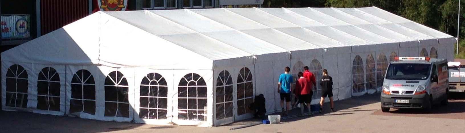 ... av Tält, Golv, Möbler, Toaletter & Paketering av Konferenser, Event